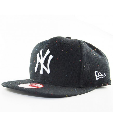 Casquette New Era NY Yankees Speckle Noir Snap 9Fifty