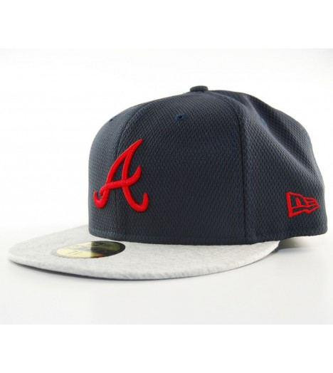 Casquette New Era 59Fifty Atlanta Braves Jersey Diamond
