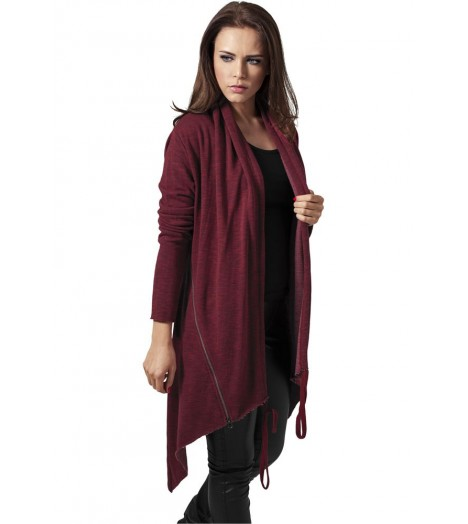 Cardigan Long Femme Urban Classics Bordeaux