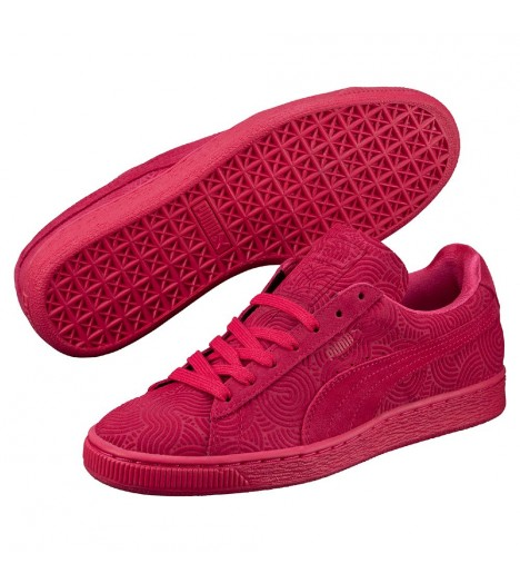 Chaussures Puma Suede Colored Rose Basket