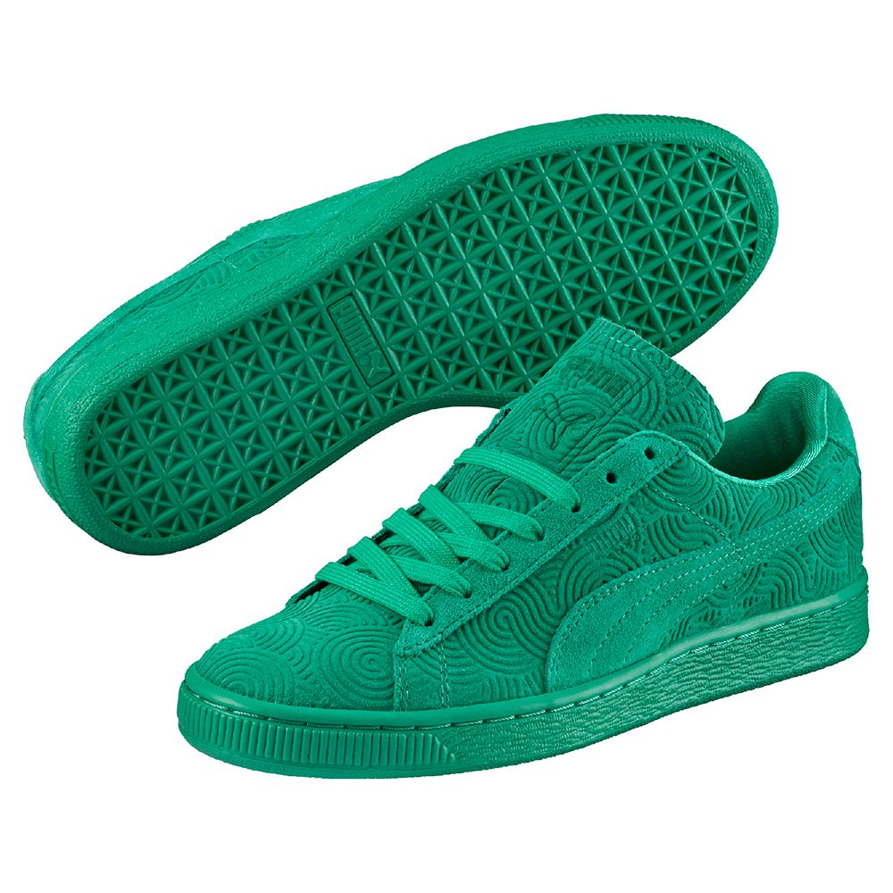 puma suede verte. Black Bedroom Furniture Sets. Home Design Ideas