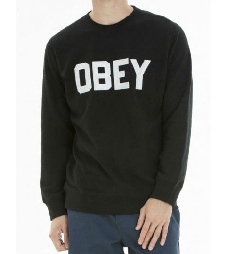 Sweat Obey Fordam Crewneck Noir