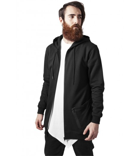 Sweat Long Urban Classics Noir Tech Zip