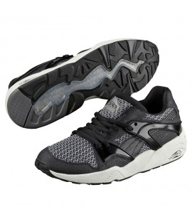 Baskets Puma Blaze Of Glory Noir Knit Trinomic