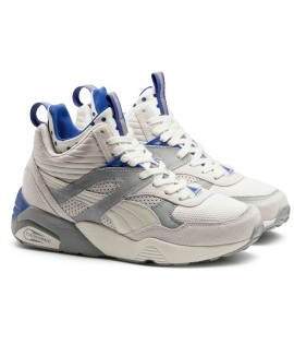 Baskets Puma Select R698 Mid Street Blanc
