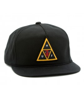 Casquette Obey x HUF Snapback Icon Face Noir