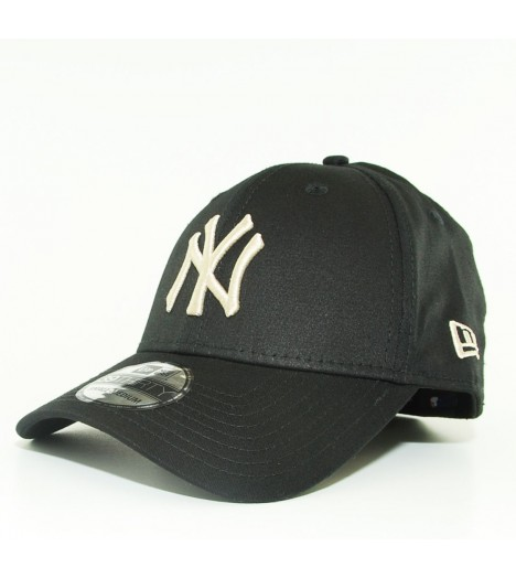 Casquette New Era 3930 NY Yankees Black Base Noir