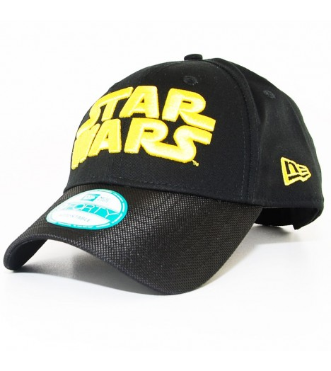 Casquette Incurvée New Era x Star Wars Word 940 Noir 9Forty