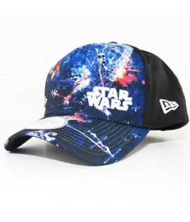 Casquette Incurvée New Era x Star Wars Graphic Trucker 940 Noir 9Forty