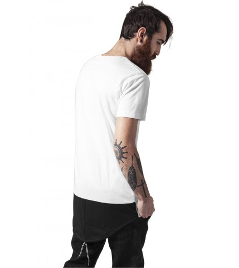 Tee-shirt Queue-De-Pie Urban Classics Blanc Noir