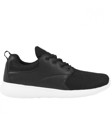 Baskets Urban Classics Light Runner Noir Blanc