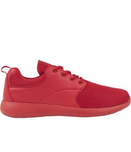 Baskets Urban Classics Light Runner Rouge