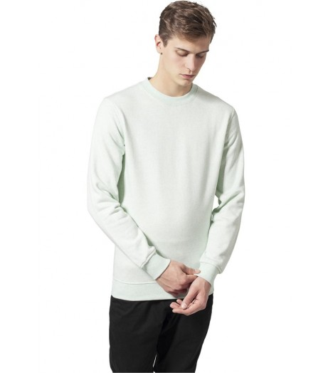 Sweat Crewneck Urban Classics Menthe Chiné