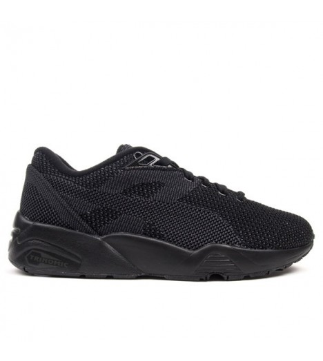 Baskets Puma R698 Knit Mesh Noir Trinomic