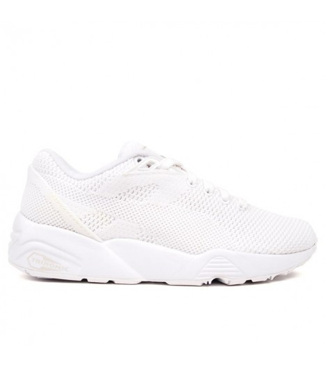 Baskets Puma R698 Knit Mesh Blanc Trinomic