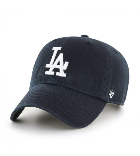 Casquette 47 Brand Los Angeles Dodgers Vintage Clean Up Noir
