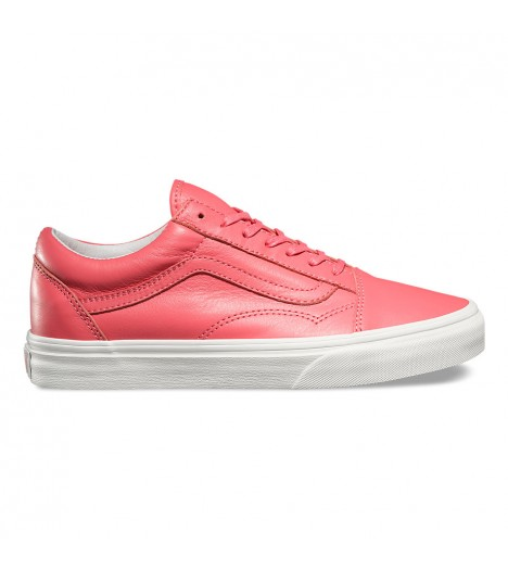 Chaussures Vans Old Skool Pastel Pink Rose Blanc
