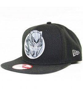 Casquette New Era Black Panther Marvel Retroflect Snapback Noir