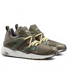 Baskets Puma Select Blaze Of Glory Leather Forest Vert Trinomic