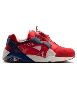 Baskets Puma Select Disc Blaze Athletic Rouge