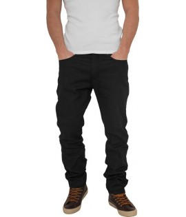 Jeans Relaxed Fit URBAN CLASSICS Noir Brut Taille US