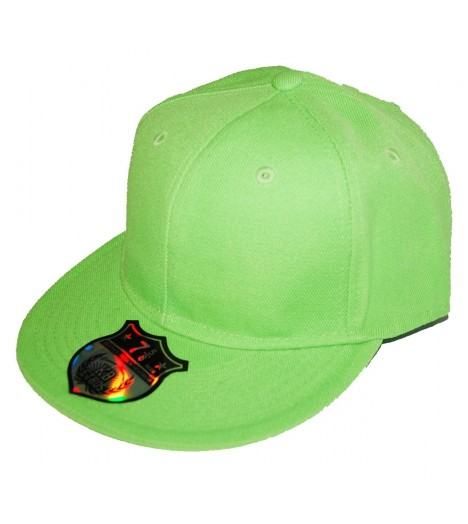 Casquette Baseball VERT LIME Basic (style 59Fifty)