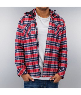 Chemise Just Rhyse And Friends Hooded Rouge