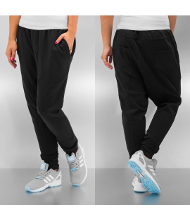 Bas de Jogging Femme Just Rhyse Basic Anti Fit Noir