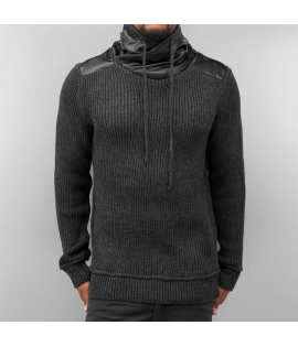 Pull Bangastic Knitted Sweater Gris Anthracite