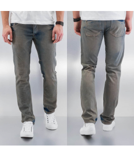 Jean Cazzy Clang Washed Straight Fit Blue