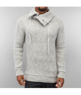 Sweat Just Rhyse Knit Sweater Gris