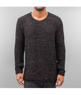 Sweat Just Rhyse Knit Sweater Noir Anthracite