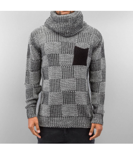 Sweat Just Rhyse Rollneck Pocket Gris Anthracite
