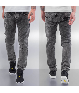 Jean Cazzy Clang Square Straight Fit Gris