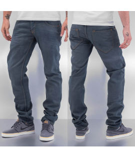 Jean Cazzy Clang Shadow Straight Fit Bleu