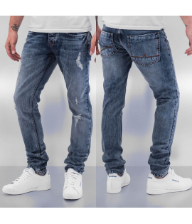 Jean Cazzy Clang Time Straight Fit Blue