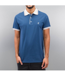 Cazzy Clang *B-Ware* Damp Polo Shirt Blue