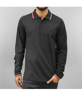 Polo Cazzy Clang Linz LS Noir Manches Longues