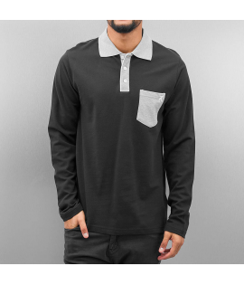 Polo Cazzy Clang Pula LS Noir Manches Longues