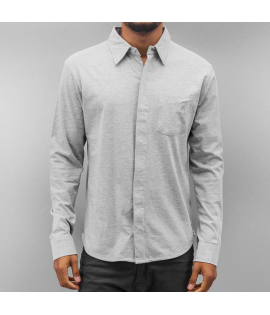 Chemise Cazzy Clang Basic Gris Chiné