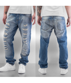 Jean Straight Fit Just Rhyse Tyrees Light Blue Délavé