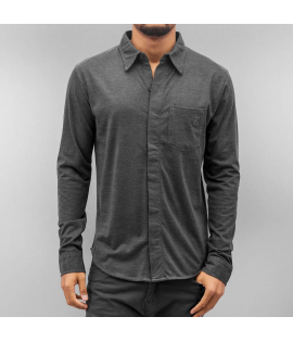 Chemise Cazzy Clang Basic Gris Anthracite