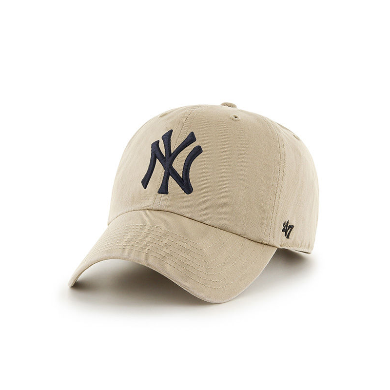 casquette 47 brand new york yankees vintage clean up kaki prestige center. Black Bedroom Furniture Sets. Home Design Ideas