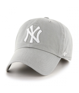 Casquette 47 Brand New York Yankees Vintage Clean Up Gris Clair