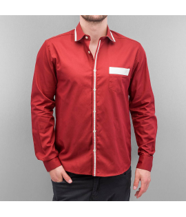 Chemise Cazzy Clang Lion III Rouge