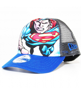 Casquette Bébé Trucker New Era Superman Bleu 940 Toddler