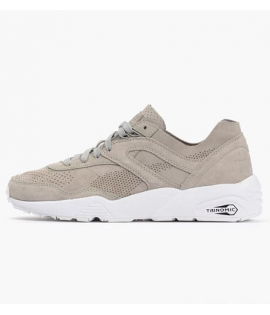 Baskets Puma R698 Soft Gris Drizzle Trinomic