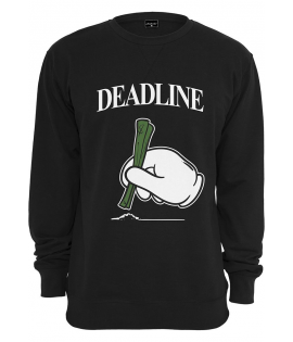 Sweat Mister Tee Deadline Crewneck Noir