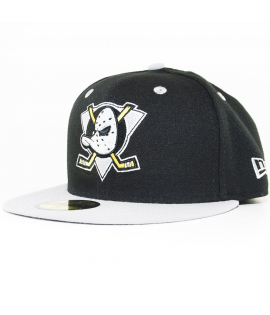 Casquette New Era 59 Fifty Mighty Ducks Team Classic Noir