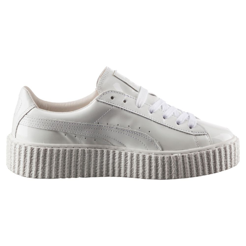 puma creepers blanche by rihanna